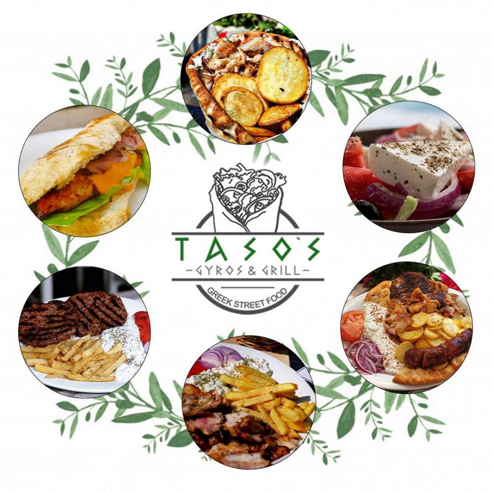 Tasos Gyros & Grill cover