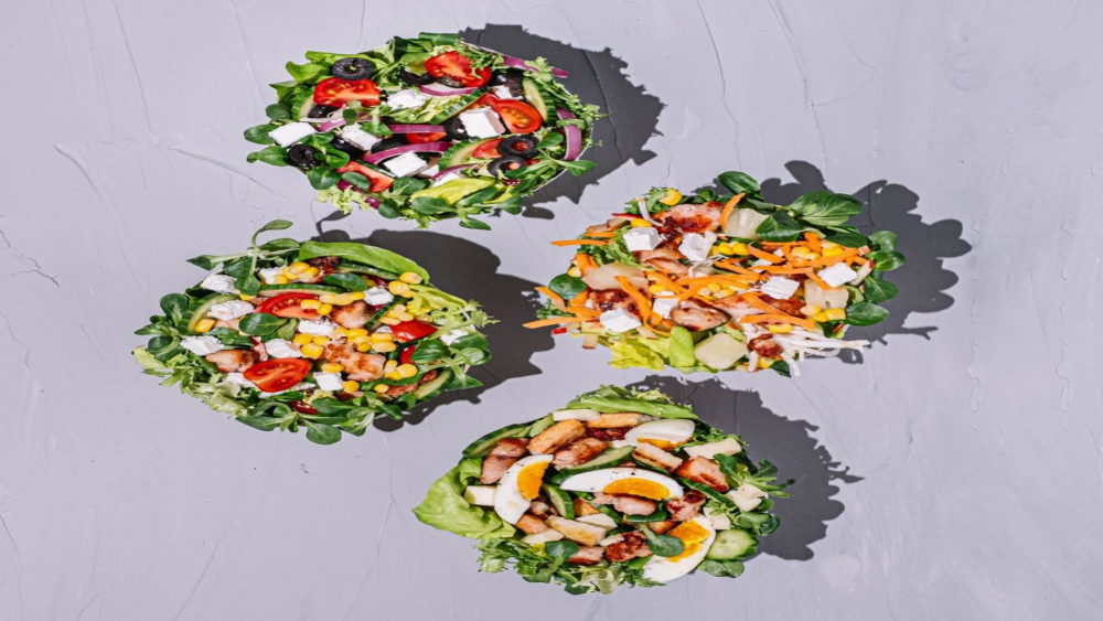 Salad Food delivery cover