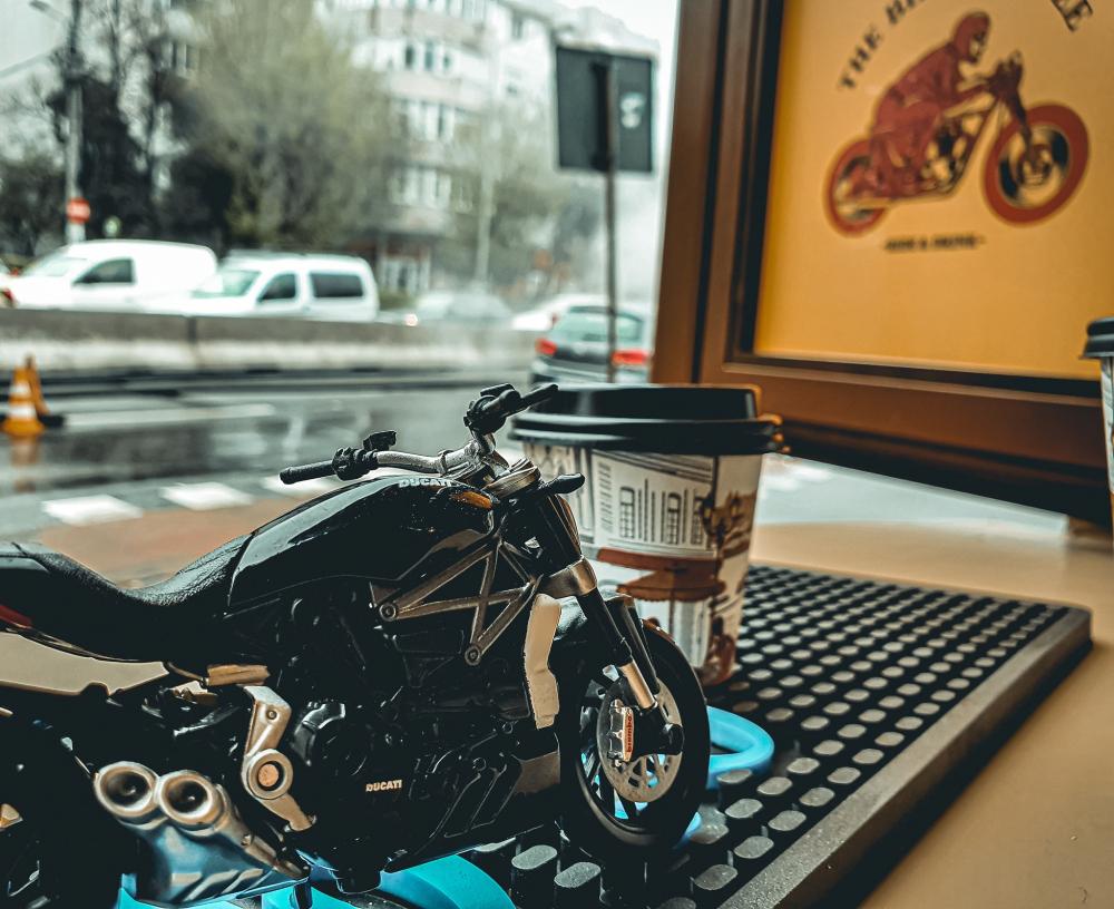 The Biker Coffee cover
