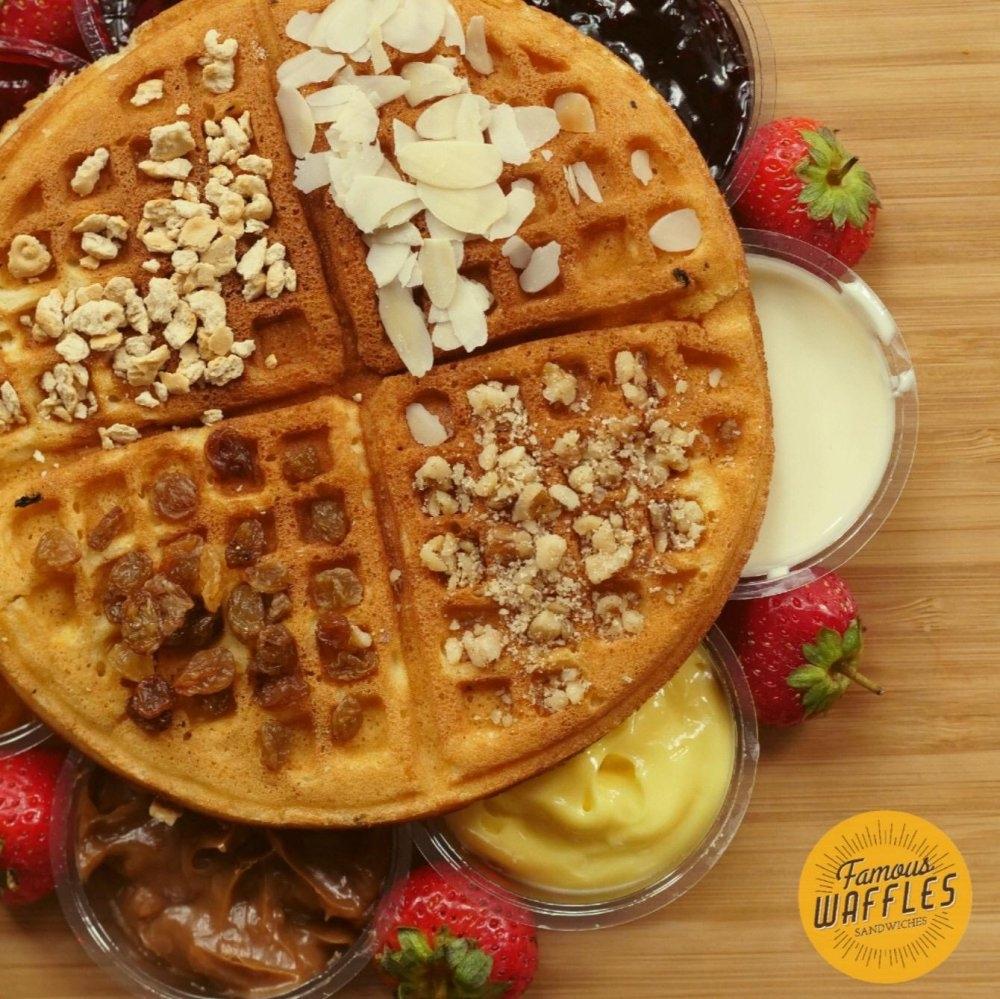 Famous Waffles Mega Mall cover