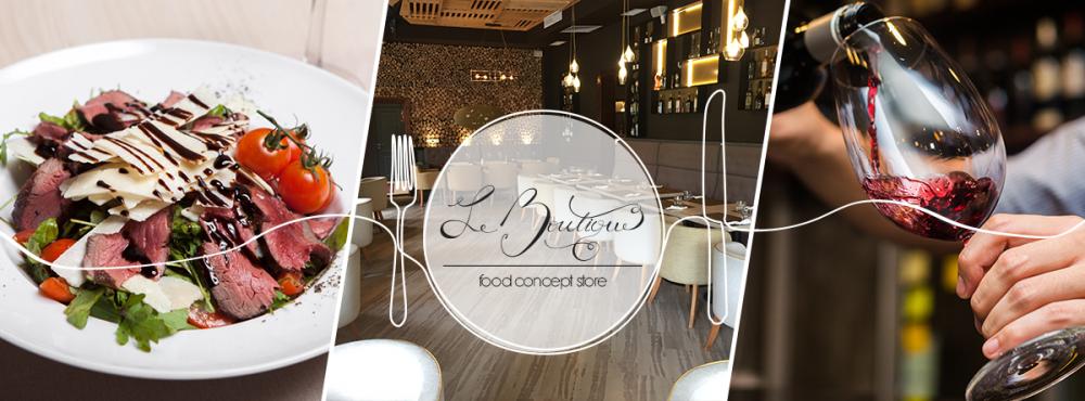 Restaurant Le Boutique - Food Concept Store cover image