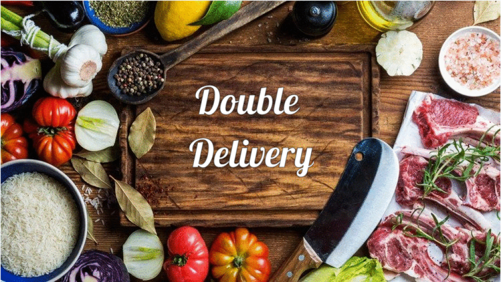 Double Delivery cover