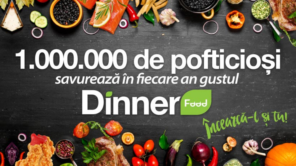 Dinner Food Plaza Romania cover