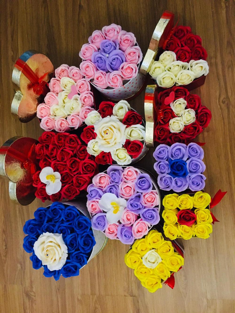 Aranjamente trandafiri de sapun cover