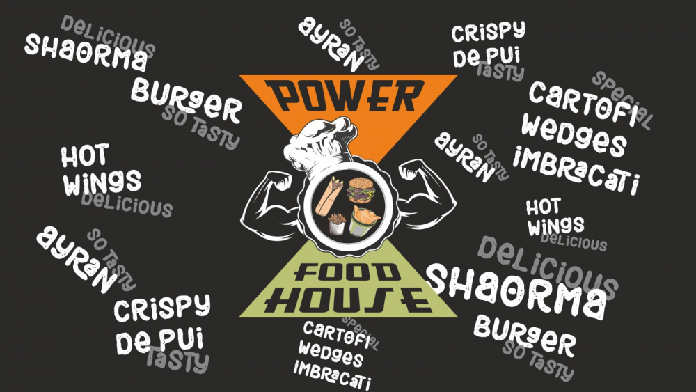 Power Food House cover