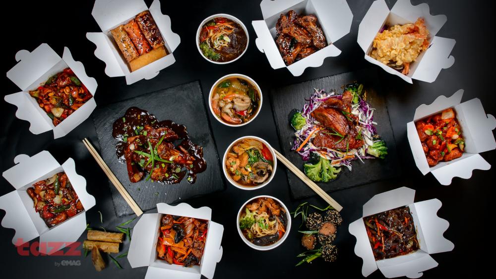 JA-WU Asiatic Cuisine Dorobanti cover