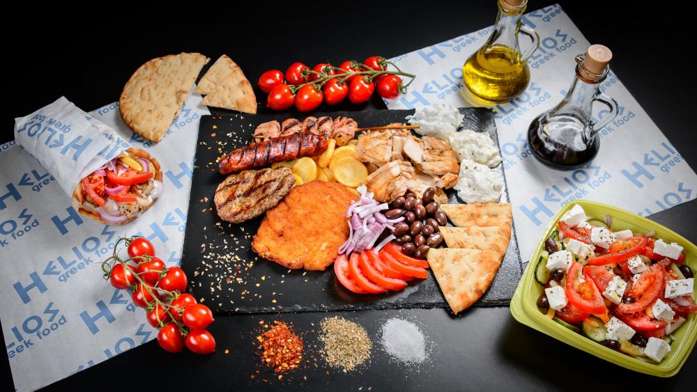 Helios Greek Food cover