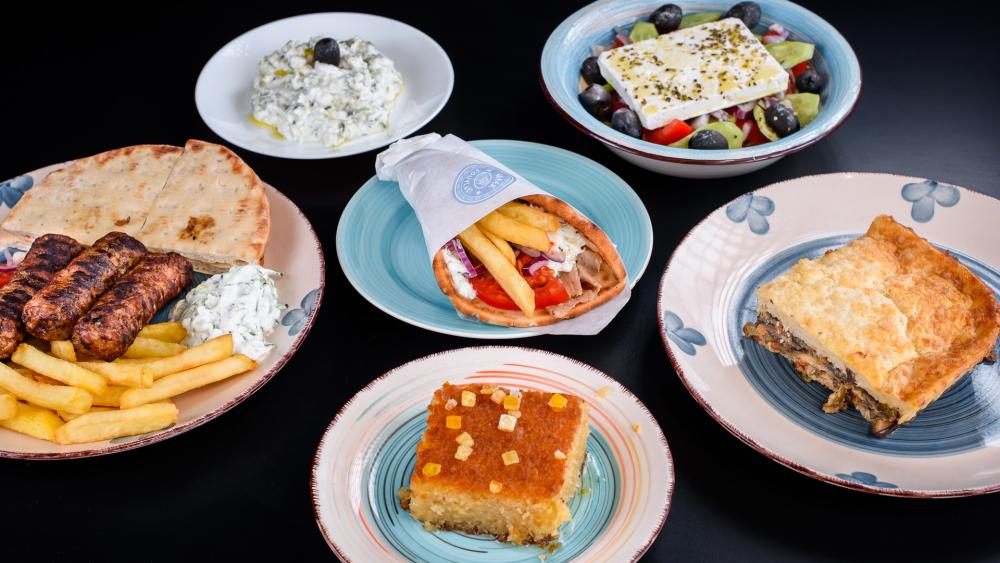 Greek souvlaki cover