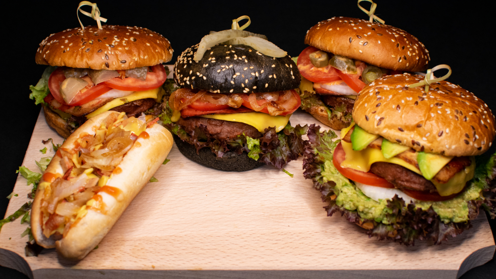 NewLeaf Burgers cover