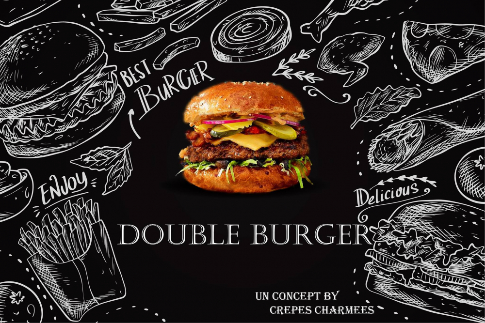 Double Burger cover