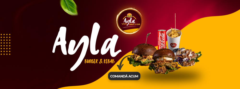Ayla Burger & Kebab cover
