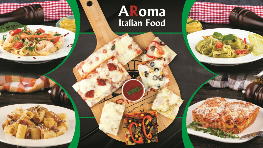 Aroma Italian Food cover