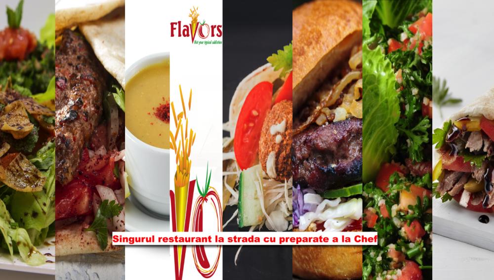 Flavors Restaurant cover