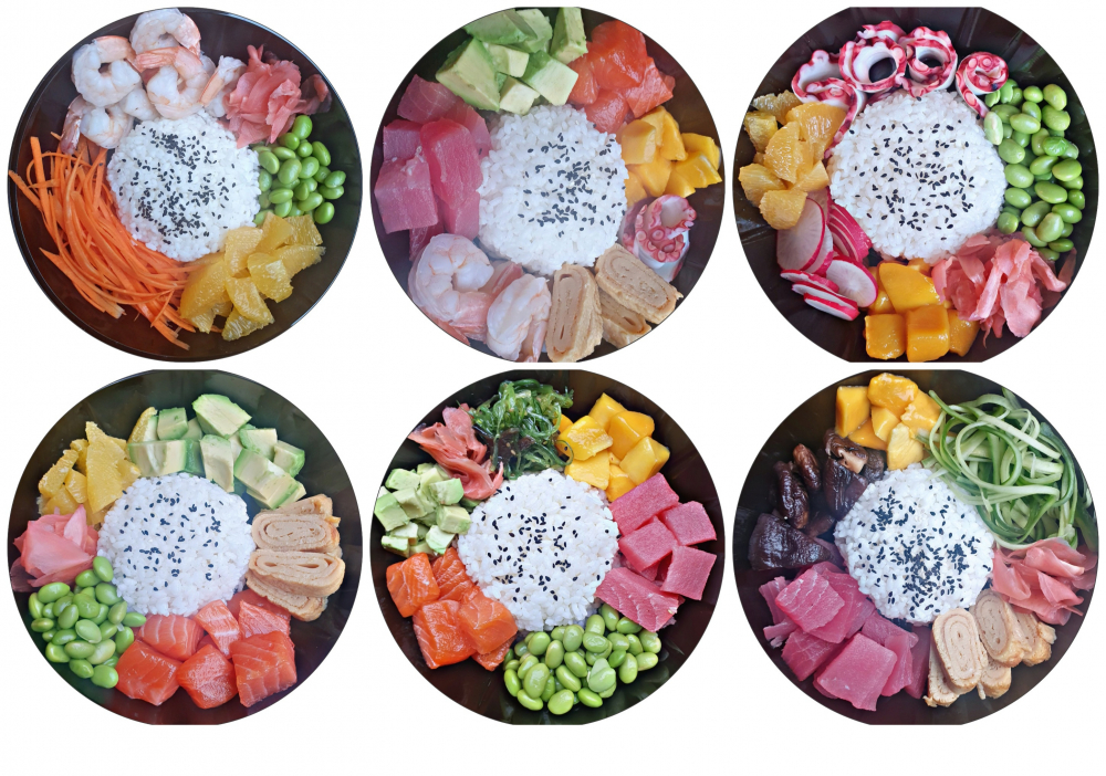 Ikigai Sushi Bowls cover