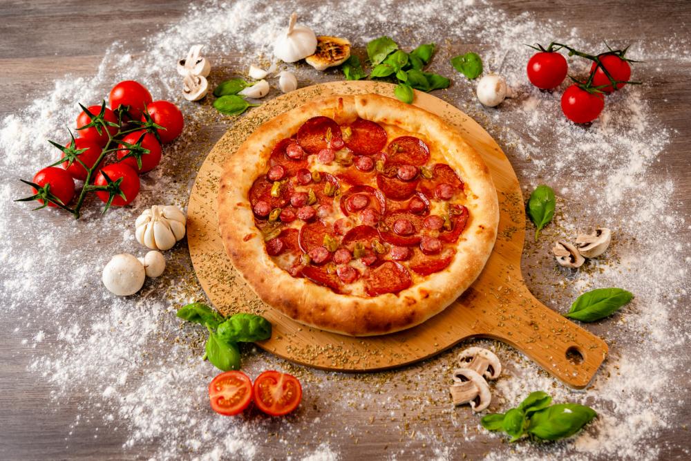 Samsa Pizza cover