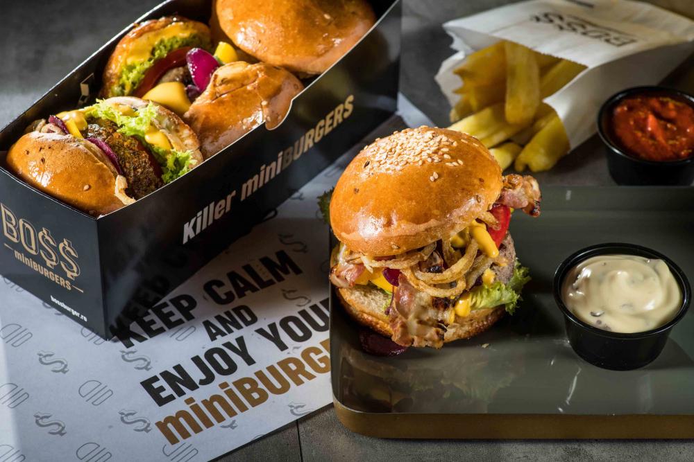 Boss mini burgers Vitan cover