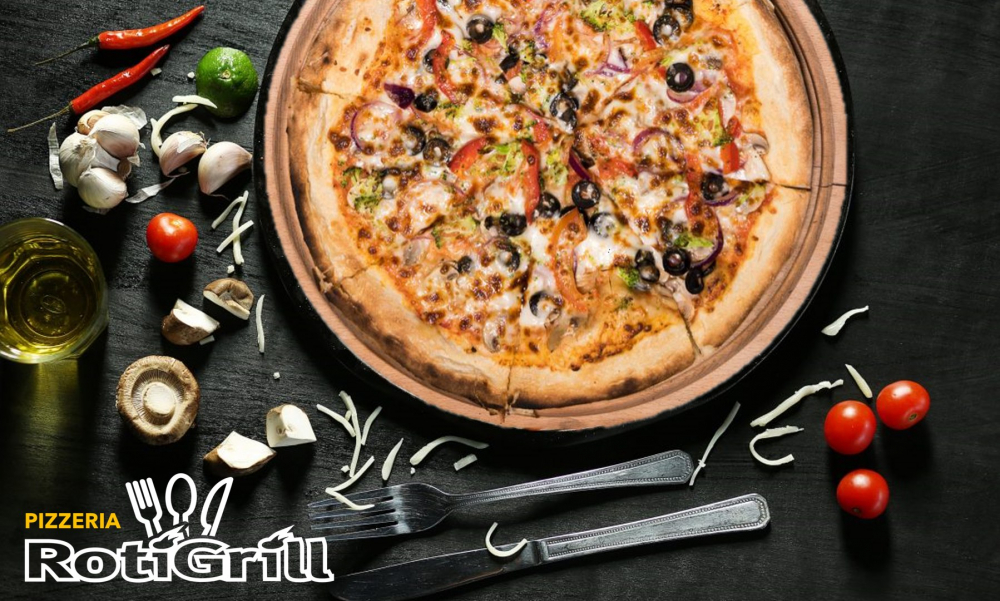 Pizzeria Roti Grill Shopping City cover