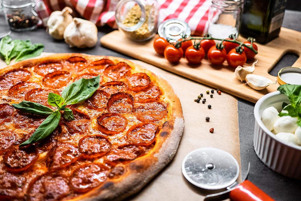 Pizza Fan cover