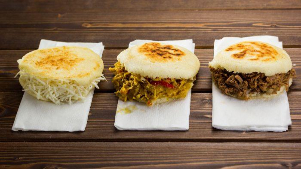 Arepas Colombianas cover