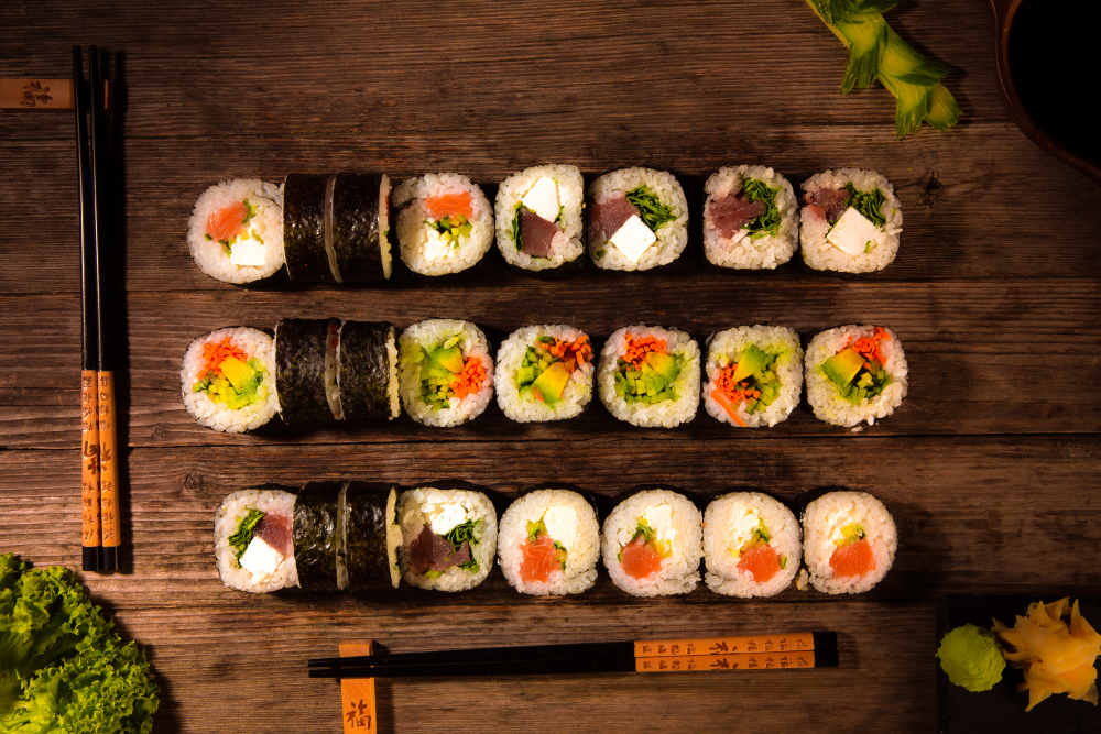Sushi Mania Tg-Mures cover