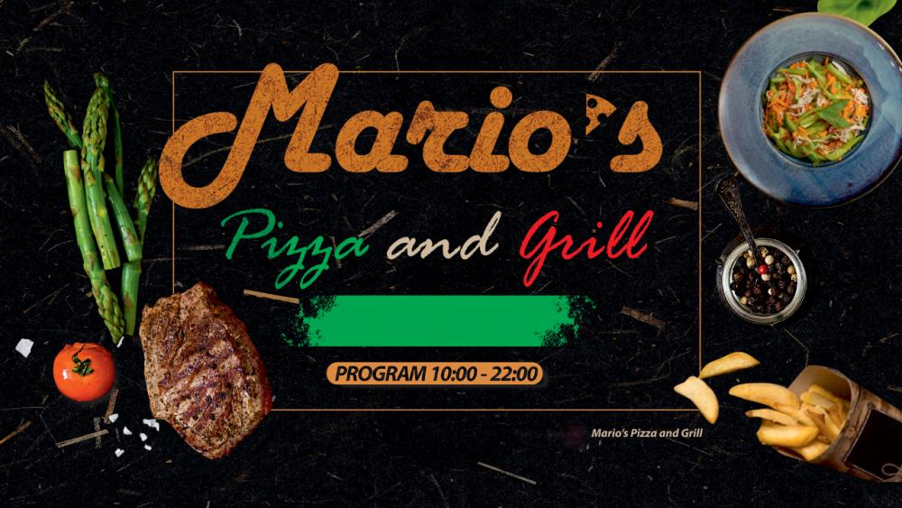 Mario`s Pizza&Grill  cover image