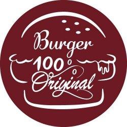 Burger 100% Original logo