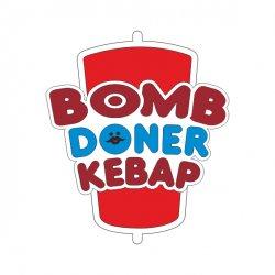 Bomb Doner Kebab  logo