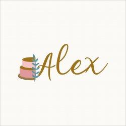 Cofetaria Alex logo