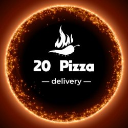 20 Pizza logo