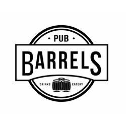 Barrels Pub logo