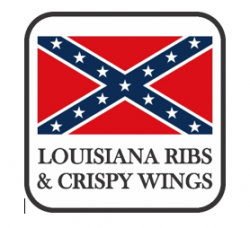 LOUISIANA RIBS & CRISPY WINGS logo