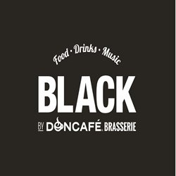 Black by DonCafe logo