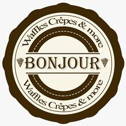 Bonjour Waffles Crepes & More logo