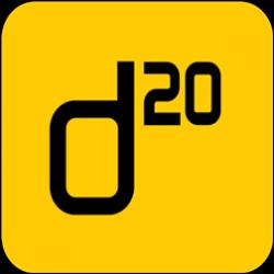 D20 Bistro logo