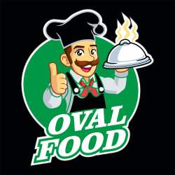 Oval Food logo