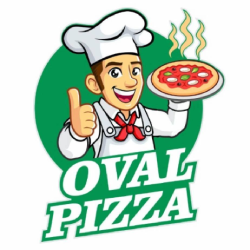 Oval Pizza logo