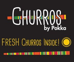 Churros by Pokka logo