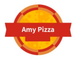 AH Pizza logo