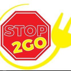 Stop 2 Go - fast food logo