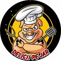 Delicii Pe Jar logo