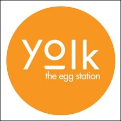 Yolk - the egg station logo