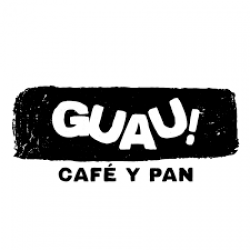 Guau Cafe y Pan logo