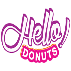 Hello Donuts & 5 to Go Coffee Park Lake logo