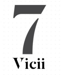 7 Vicii - Chicken Edition logo