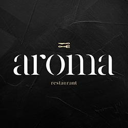 Aroma Restaurant logo