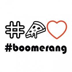 Boomerang Pizza logo
