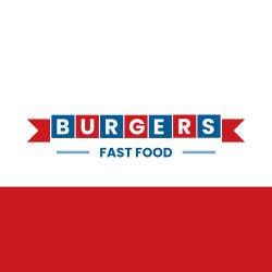Burgers Fast Food logo
