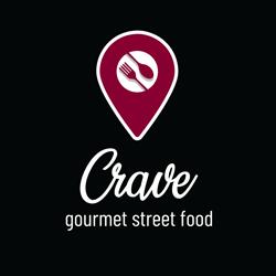 Crave Gourmet Streetfood logo