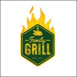 Family grill logo