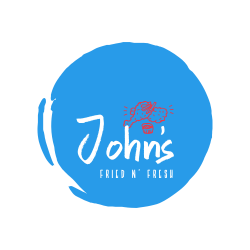 John`s Fried N` Fresh logo